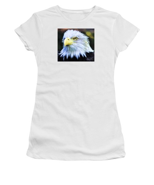Eagle Eye Women's T-Shirt (Junior Cut) by Suzanne Handel