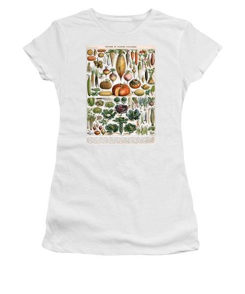 Illustration Of Vegetable Varieties Women's T-Shirt