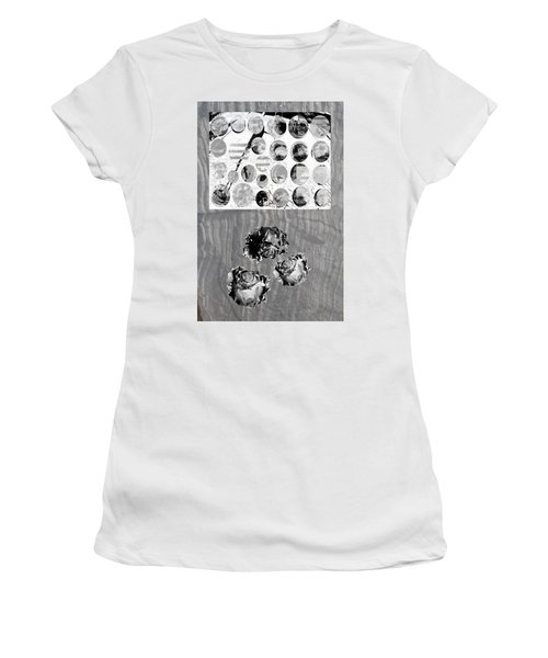 Women's T-Shirt (Junior Cut) featuring the photograph  Influence On The Spiritual Atmosphere. by Danica Radman