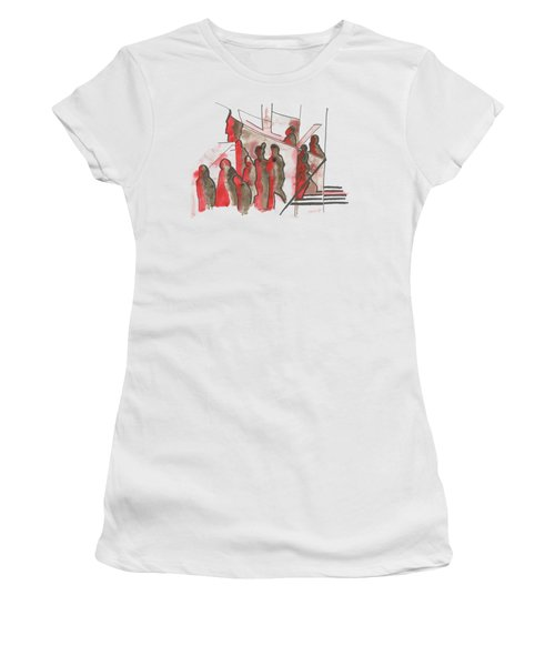 People And Walls. 27 May, 2015 Women's T-Shirt