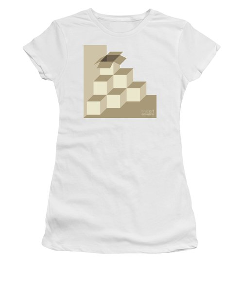 There Is Another Box Outside Of The Box Women's T-Shirt (Athletic Fit)