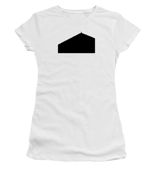 Women's T-Shirt (Junior Cut) featuring the photograph  Unchained  by Prakash Ghai