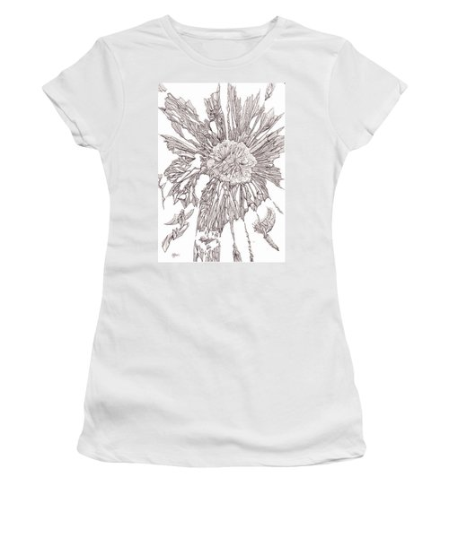Breaking Free.    0111-1 Women's T-Shirt (Junior Cut) by Charles Cater