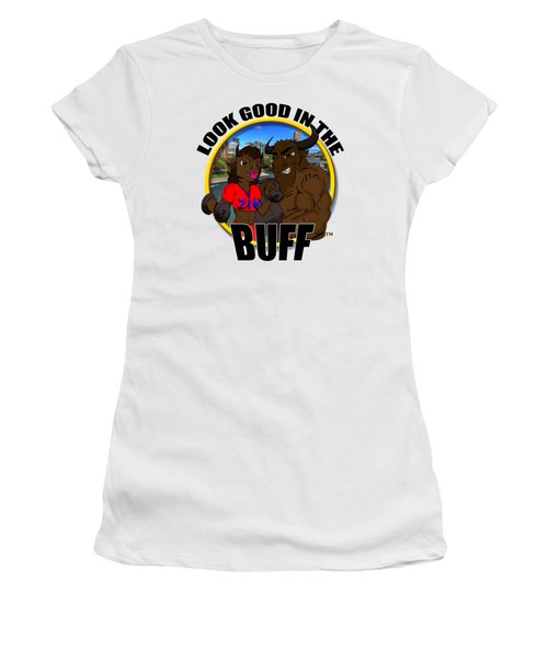 05 Look Good In The Buff Women's T-Shirt (Athletic Fit)