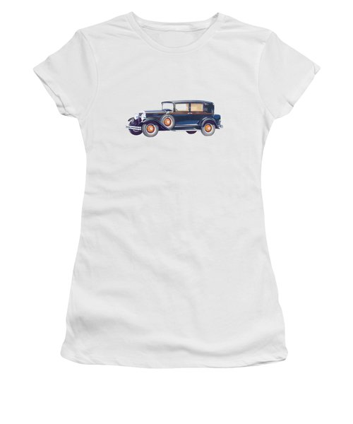 1929 Studebaker Commander Women's T-Shirt (Athletic Fit)