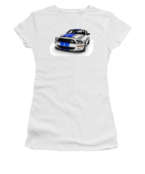 2008 Shelby Ford Gt500kr Women's T-Shirt (Athletic Fit)
