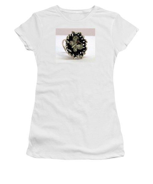 Acrea Viola Women's T-Shirt (Junior Cut) by Mikhail Savchenko