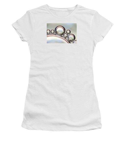 Air Bubbles Women's T-Shirt (Athletic Fit)