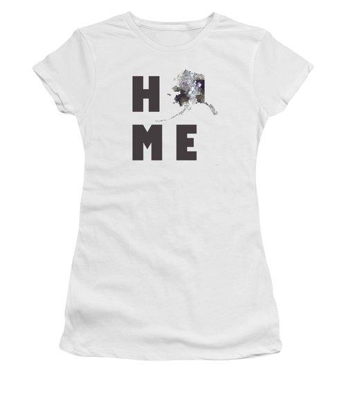 Alaska State Map Women's T-Shirt
