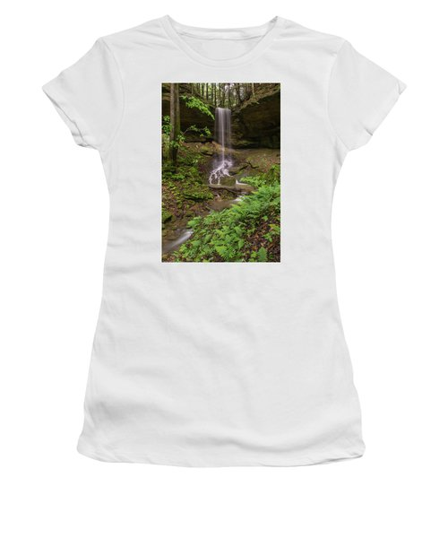 Alcorn Falls. Women's T-Shirt (Junior Cut)