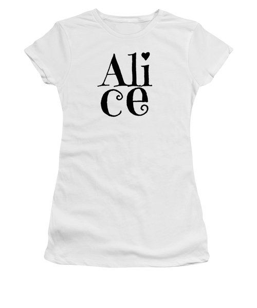 Alice Women's T-Shirt (Athletic Fit)