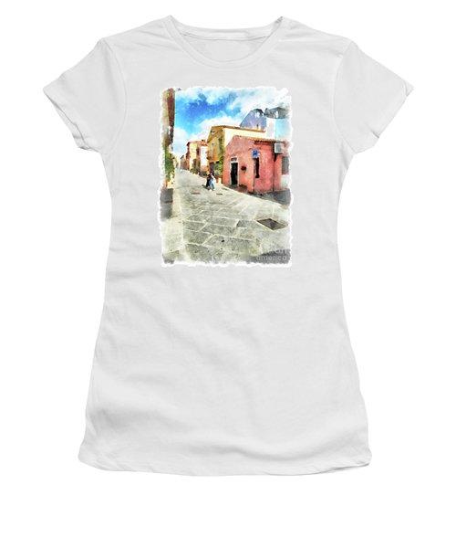 Arzachena Garibaldi Street Women's T-Shirt (Athletic Fit)