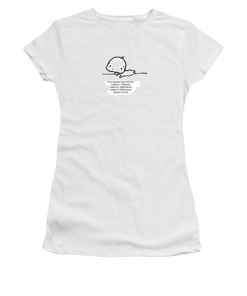 Baby Teacher Women's T-Shirt (Junior Cut) by Leanne Wilkes