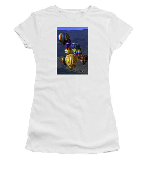 Balloons Over Reno Women's T-Shirt