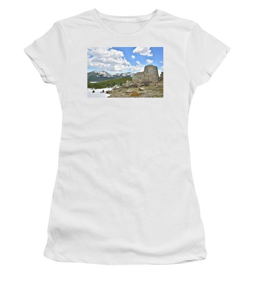 Big Horn Mountains In Wyoming Women's T-Shirt