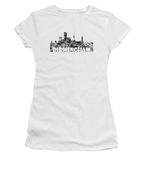 Birmingham England Skyline Women's T-Shirt (Athletic Fit)