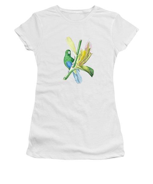 Brazilian Parrot Women's T-Shirt (Junior Cut) by Philip Ralley