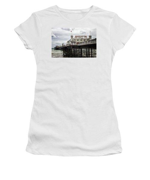 Brighton Pier Women's T-Shirt (Athletic Fit)