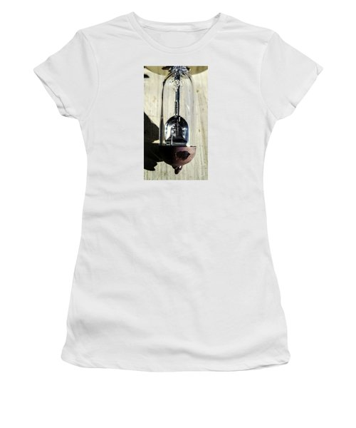 Women's T-Shirt (Junior Cut) featuring the photograph Burnt Out by Bruce Carpenter