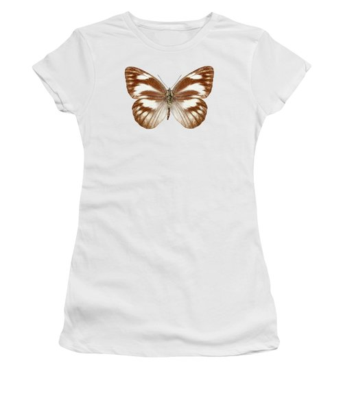 Butterfly Species Appias Libythea  Women's T-Shirt (Athletic Fit)