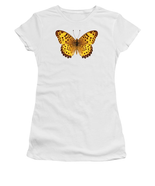 Butterfly Species Argynnis Hyperbius  Women's T-Shirt