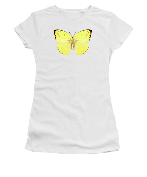 Butterfly Species Catopsilia Pomona Pomona  Women's T-Shirt