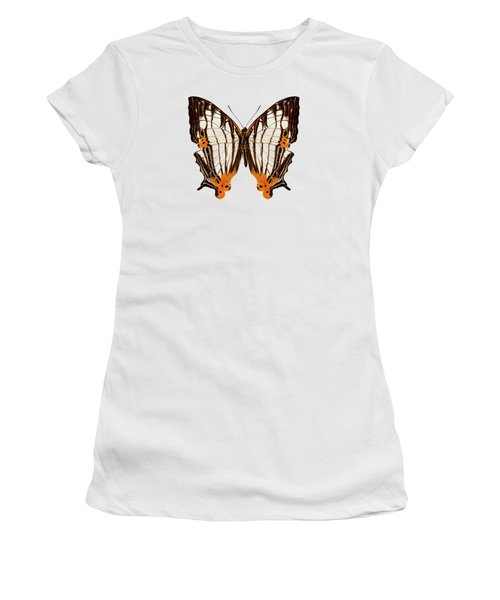 Butterfly Species Cyrestis Lutea Martini Women's T-Shirt (Athletic Fit)