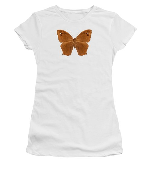 Butterfly Species Melanitis Leda  Women's T-Shirt