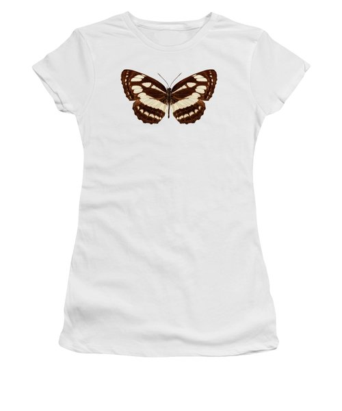 Butterfly Species Neptis Hylas  Women's T-Shirt