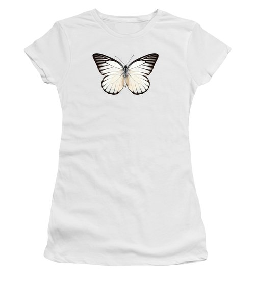 Butterfly Species Prioneris Philonome Women's T-Shirt
