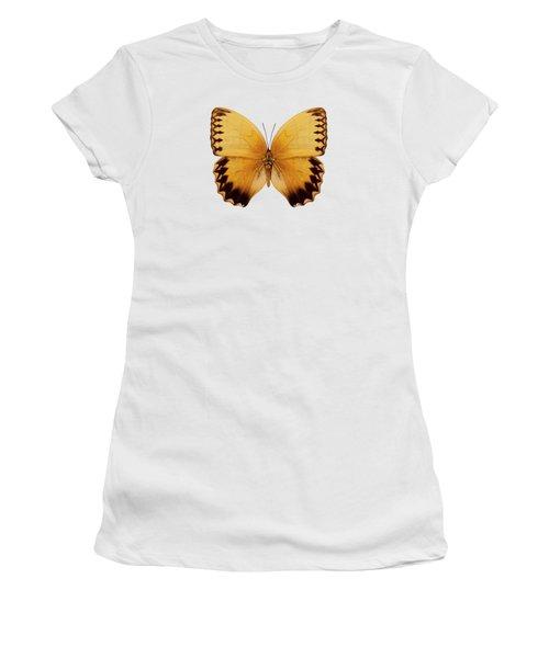 Butterfly Species Stichophthalma Howqua Suffusa  Women's T-Shirt