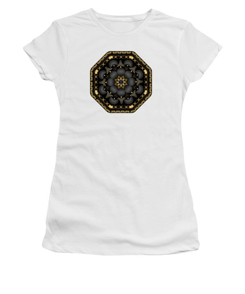 Circularium No. 2616 Women's T-Shirt (Junior Cut) by Alan Bennington