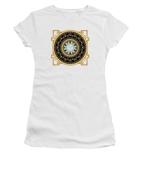 Circularium No 2653 Women's T-Shirt (Junior Cut) by Alan Bennington