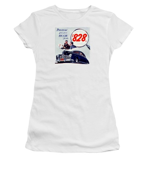 Classic Cars Women's T-Shirt (Junior Cut) by Allen Beilschmidt