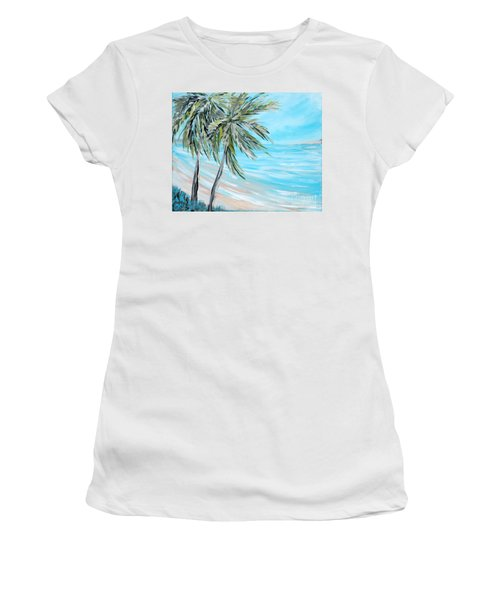 Collection. Art For Health And Life. Painting 3 Women's T-Shirt (Athletic Fit)