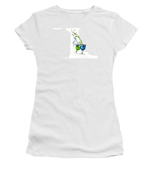 Dancing Drinks Women's T-Shirt (Athletic Fit)