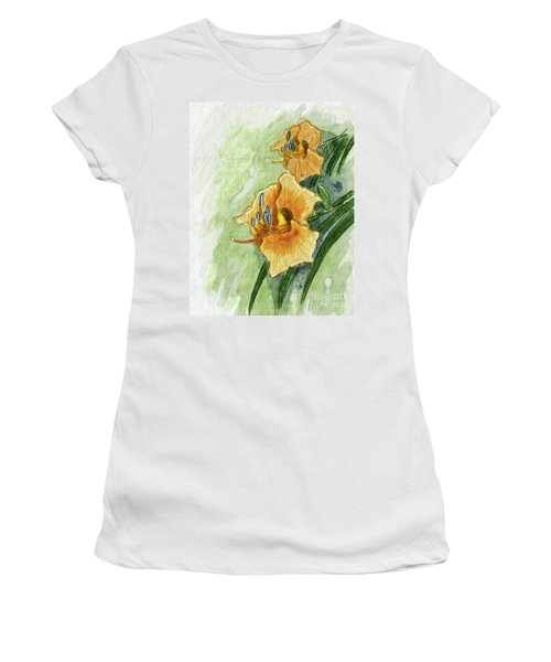 Daylily #2 Women's T-Shirt (Athletic Fit)