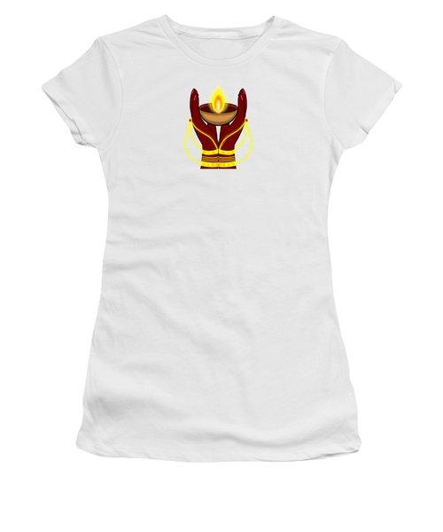 Deepa Women's T-Shirt (Athletic Fit)