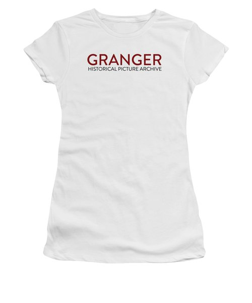 Women's T-Shirt featuring the painting Delete by Granger