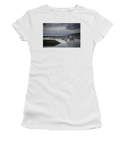 Discovery Harbour Women's T-Shirt (Junior Cut) by Randy Hall