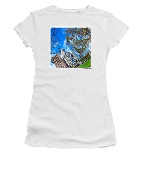 #downtown #houston On A #beautiful Women's T-Shirt