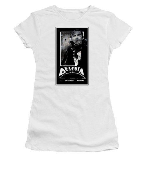Dracula Movie Poster 1931 Women's T-Shirt (Athletic Fit)