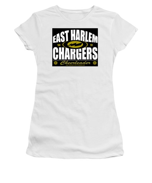 East Harlem Chargers Cheerleader Women's T-Shirt