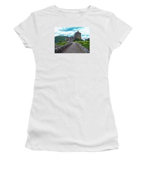 Eilean Donan Castle - -sct665549 Women's T-Shirt
