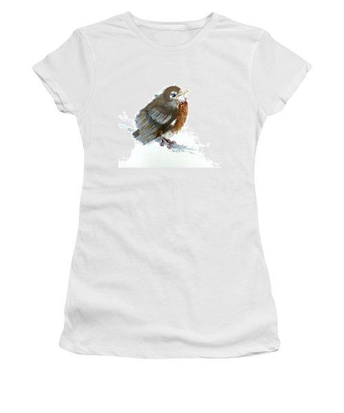 Fledgling Robin Women's T-Shirt