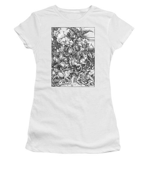 Four Horsemen Of The Apocalypse Women's T-Shirt