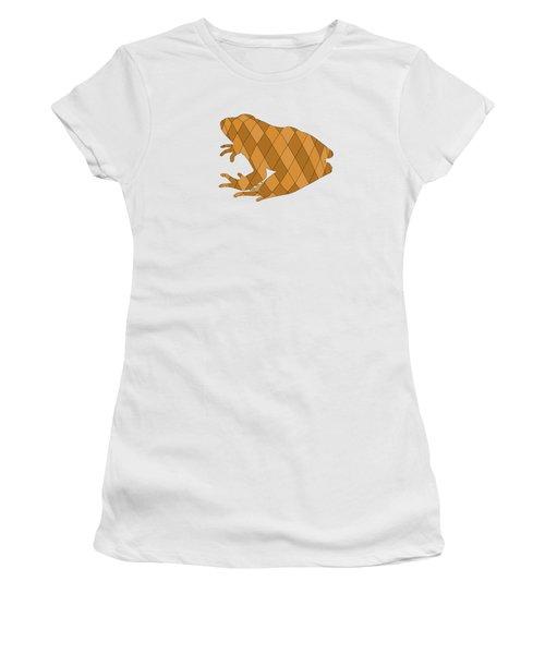 Frog Women's T-Shirt (Junior Cut) by Mordax Furittus
