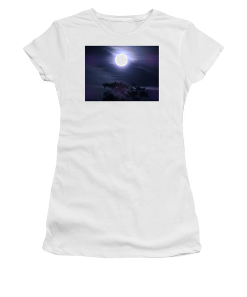 Full Moon Falling Women's T-Shirt