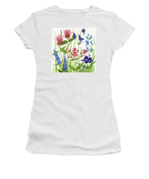 Garden Flowers Women's T-Shirt