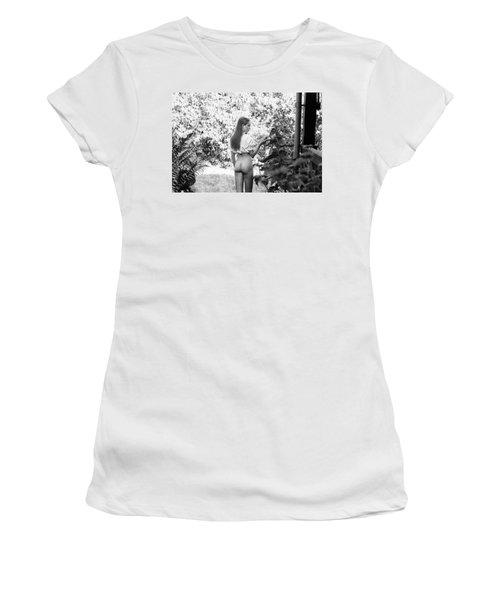 Girl In Swedish Garden Women's T-Shirt